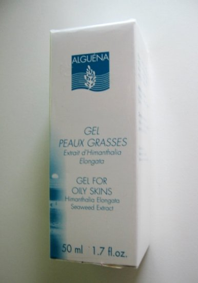 S0140 ALGUENA GEL FOR OILY SKINS W/ HIMANTHALIA ELONGATA SEAWEED EXTRACT, 50ML