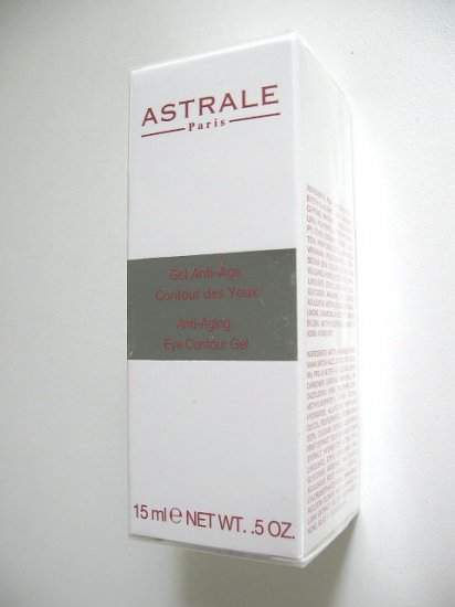 S0097 ASTRALE PARIS ANTI-AGING EYE CONTOUR GEL, 15ml