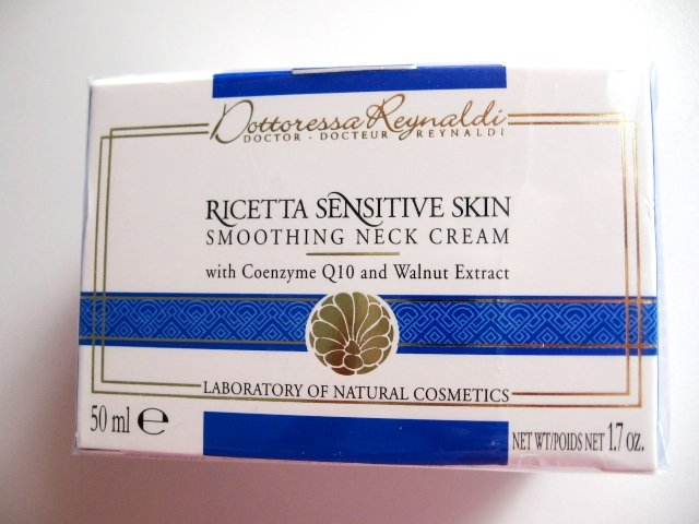 S0001 DR DOTTORESSA REYNALDI SMOOTHING NECK CREAM FOR SENSITIVE SKIN, 50ml