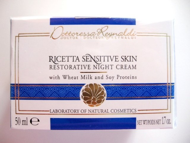 S0156 DR REYNALDI RESTORATIVE NIGHT CREAM FOR SENSITIVE SKIN, 50ML