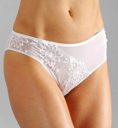 A0508 Le Mystère NEW 3407 Dore Candide Dove Bridal Embroidery Bikini, SIZE SMALL