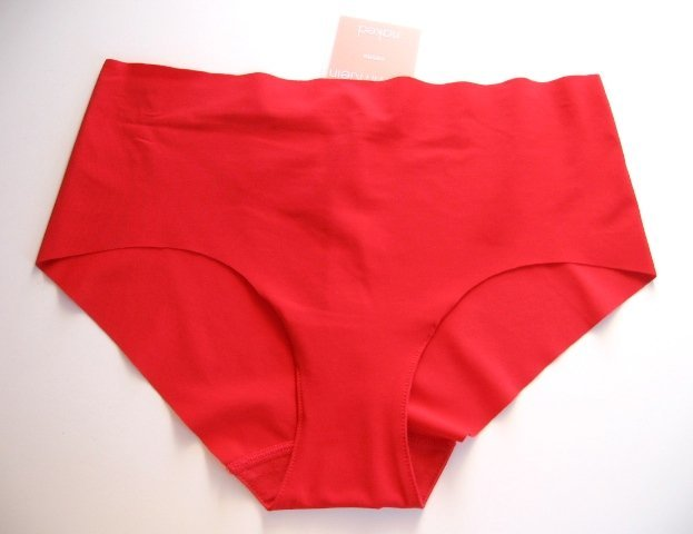 A0280 CALVIN KLEIN NAKED LOW-RISE HIPSTER F2637 RED SIZE MEDIUM