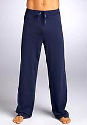 A0336 CALVIN KLEIN MEN'S BRUSHED JERSEY LOUNGE PANT M9451, NAVY SIZE SMALL