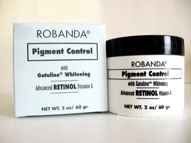 S0027 Robanda Pigment Control w/ Gatuline Whitening Cream 2 OZ / 60 gram