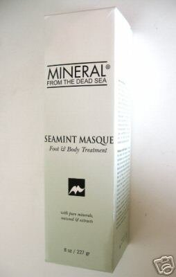 S0064 MINERAL FROM THE DEAD SEA SEAMINT MASQUE FOOT/BODY  8 OZ
