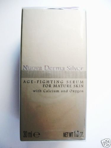 S0081 Nuova Derma Silver Age-Fighting Serum 1.0 oz NEW