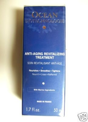 S0101 OCEAN FOR ALL SKIN TYPES ANTI-AGING REVITALIZING TREATMENT, 1.7 Fl. Oz (50ml)