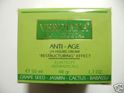 S0020 NEW VERDIANA BIO-VEGETAL RESTRUCTURING ANTI-AGE 24 HOURS CREAM 1.7 Oz (50ml) NEW IN BOX