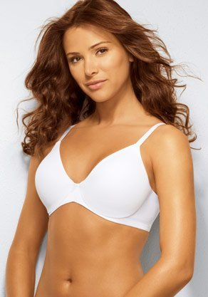 A0363 LILYETTE TAILORED BAND MINIMIZER BRA 971 WHITE SIZE 40DDD