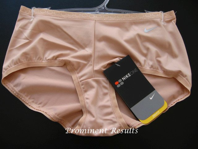 A0094 NIKE WOMEN DRI-FIT TRAINING BOYSHORT 138277 NUDE SIZE MEDIUM