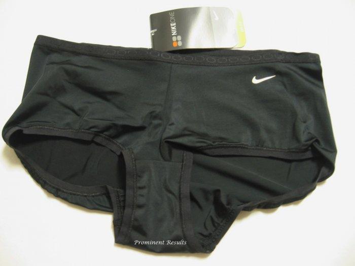 A0094 Nike Fit Dry Training Boyshort 138277 BLACK SIZE LARGE