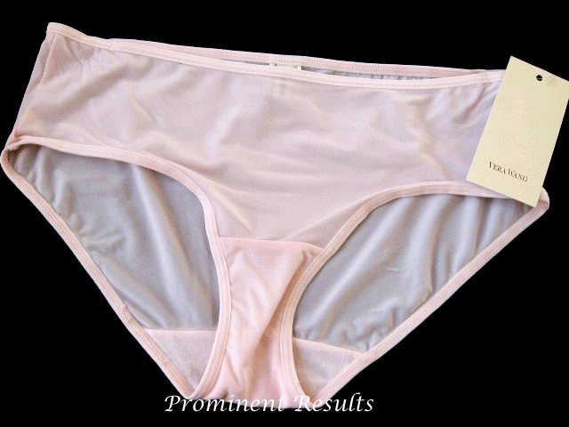 A089H Vera Wang White Label Cherry Blossom Thin MF Hipster 22357 Pink SIZE = LARGE