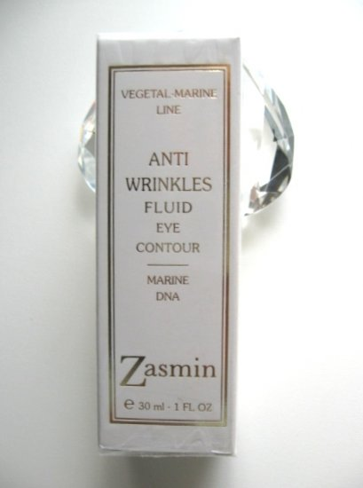 S0211 Zasmin Anti Wrinkles Vegetal-Marine Fluid Eye Contour, 1.0 FL. oz (30ml) ITALY