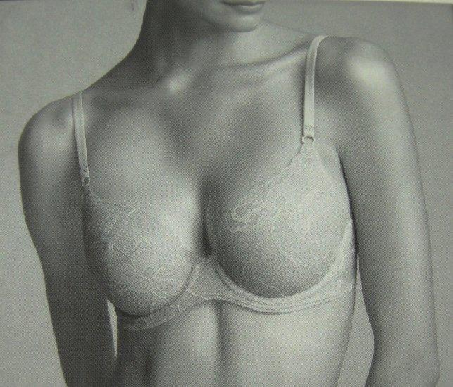 A0370 Calvin Klein lace Naked Bond Underwire Bra F2853 Dune SIZE = 36C
