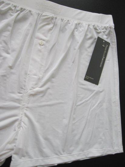 A0137 Perry Ellis Portfolio Techno Stretch Boxer 163000 WHITE SIZE = EXTRA LARGE