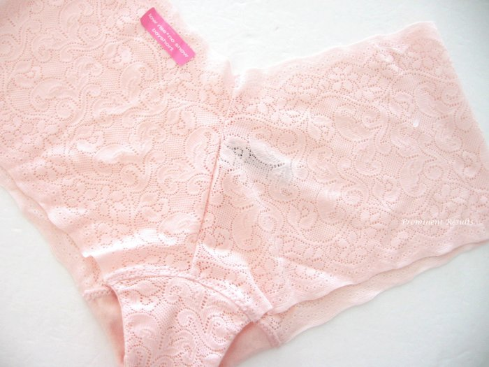 A0349 Maidenform No Show Low Rise Boyshort 40717 PINK SIZE EXTRA LARGE