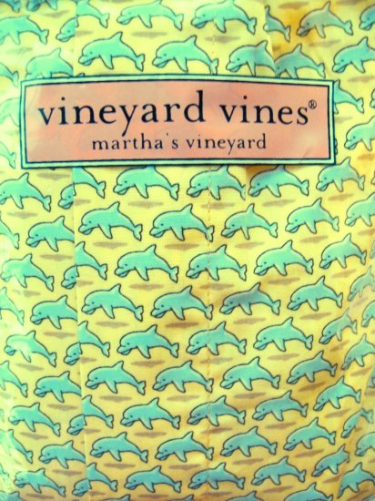 A0535 VINEYARD VINES BOXER SHORT DOLPHIN 1UF7007  SIZE SMALL