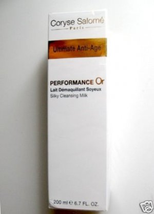 S0174 Coryse Salome ANTI-AGE SILKY CLEASING MILK FRANCE, 6.7 FL.OZ.(200ml)