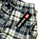 A340-4 ecko unltd Woven Plaid Lounge Pant EK09P4 Blue/White  SIZE Medium