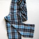 A341 ecko unltd Woven Autumn Plaid Lounge Pant RN20792 BLUE/NAVY/WHT  SIZE Large