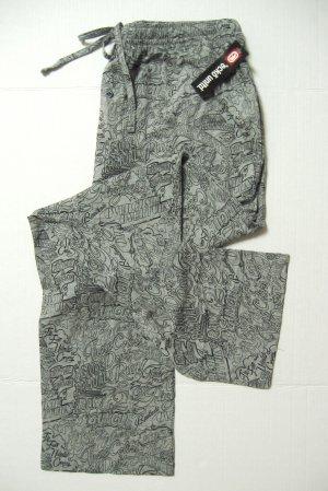 A375 ecko unltd Mens Gray Logo Knit Lounge Pant EK8101P SIZE Large