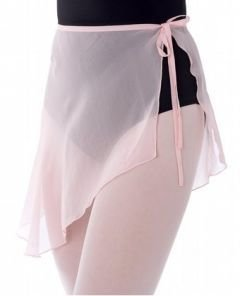 D0008 Danskin Sheer Pure Silk Ballet Short Skirt 4420 Pink Small