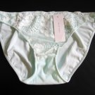 A469 Natori Underneath White Label Zen Floral Embroidered Lace Bikini 153120, SIZE MEDIUM