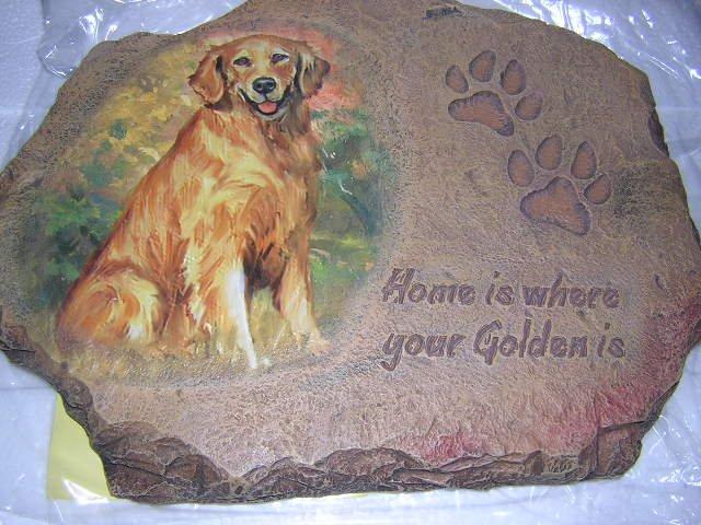 Golden Retriever Plaque from Bradford Exchange
