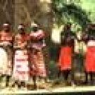 full maasai ceremonial outfit