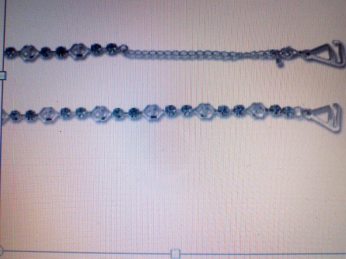 Aqua Swarovski Crystal Strap