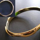Sparkling Gold Bangle