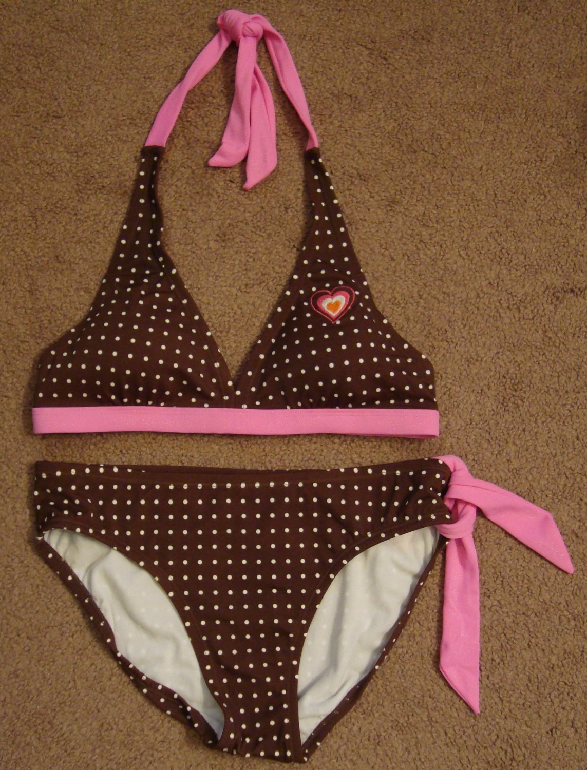NEW GIRLS LIMITED TOO SWIMSUIT SIZE 16/18 JUSTICE