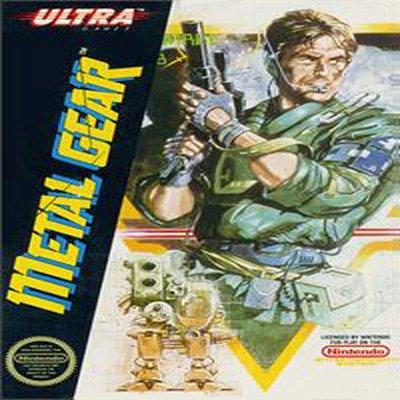 METAL GEAR Nintendo NES Game * free shipping *