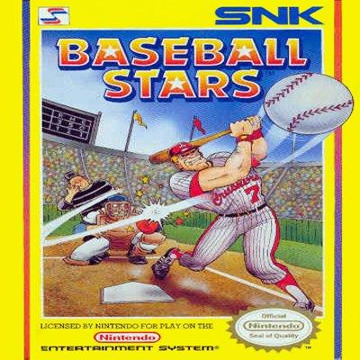 BASEBALL STARS Nintendo NES Game * free shipping *