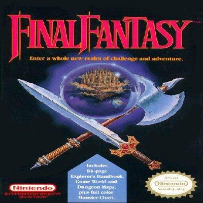 Final Fantasy Nintendo NES Game  * free shipping *