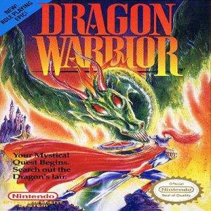 Dragon Warrior Nintendo NES Game * free shipping *