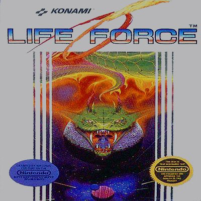 LIFE FORCE Nintendo NES Game * free shipping *
