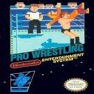 PRO WRESTLING Nintendo NES Game * free shipping *