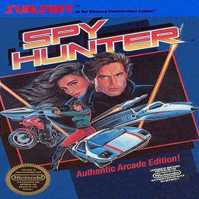 SPY HUNTER Nintendo NES Game * free shipping *