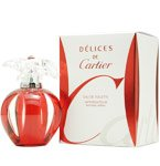 DELICES DE CARTIER 3.4 OZ EDT SPRAY FOR WOMEN BY CARTIER