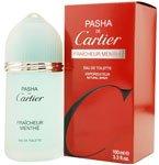 PASHA DE CARTIER FRAICHEUR MENTHE 3.3 OZ EDT SPRAY FOR MEN BY CARTIER