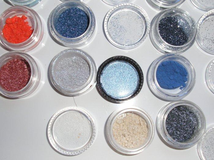 mac glitter brillants GREY W0W~~~1/4 TSP SAMPLE SZ
