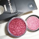 mAC PIGMENT ruby red W0W SO SEXY SAMPLE SZ 1/4 TSP