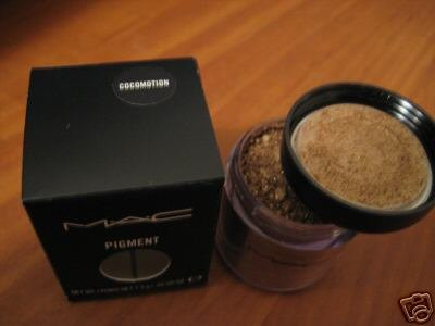mac pigment COCOMOTION sample sz