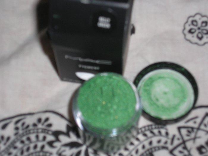 MAC PIGMENT KELLEY GREEN W0W  sample sz l00k