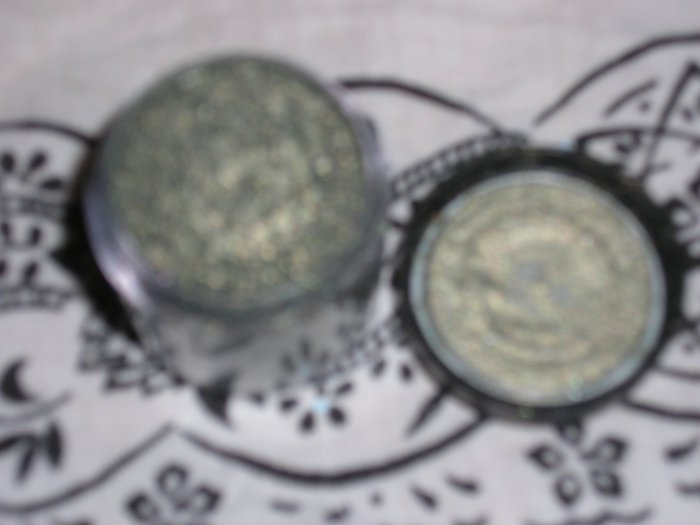 mac pigment NIGHT LIGHT sample sz