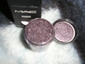 ****Mac Pigment**** DEEP PURPLE*~~~~~ pro eye pigment WOW 1/4 sample sz