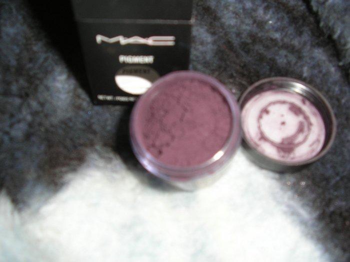mac pro pigment  nacturnal plum matte 1/4 tsp sample in jar  HOT