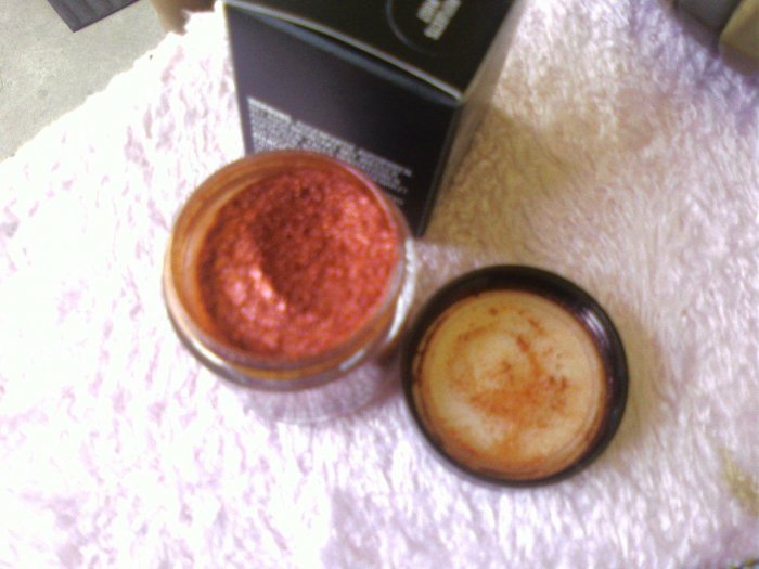 mac glitter brillants REFLECTS RUST   H0000TTTTT SAMPLE SZ
