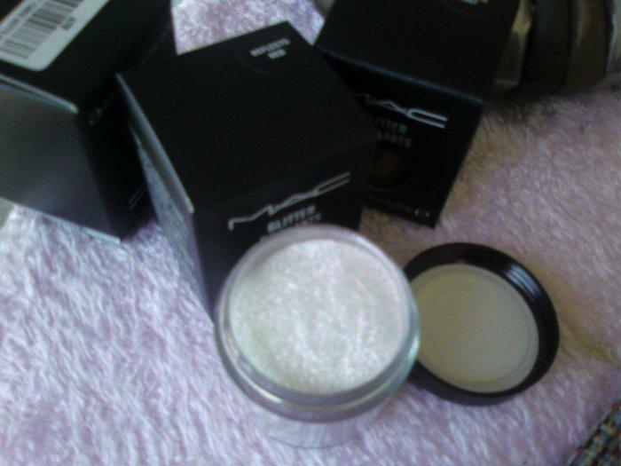 mac pro glitter brillants Reflects Red sample sz